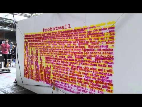 Robotwall an der 10. «re:publica»